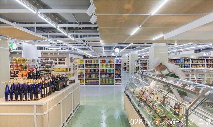 成都超市装修案例