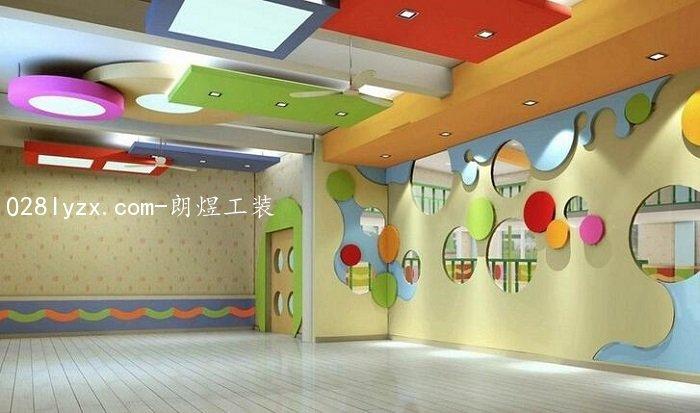 成都幼儿园装修设计