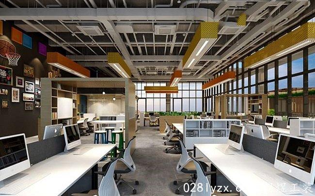 成都办公室设计效果图