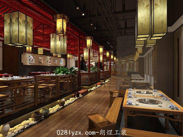 成都新中式火锅店设计
